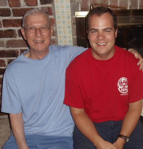 Dad and I... Love this Picture!