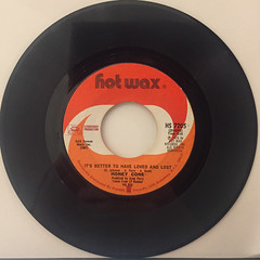 HONEY CONE:SITTIN' ON A TIME BOMB(WAITIN' FOR THE HURT TO COME)(RECORD SIDE-B)