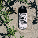 Iguana - Handpainted Oldschool Fingerboard Deck