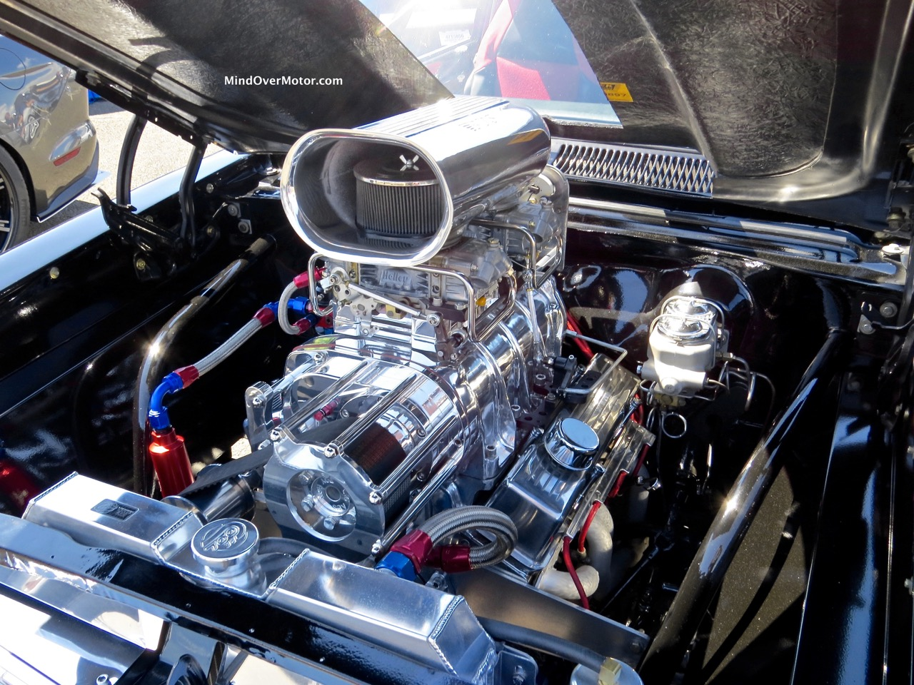 Pro Street Nova Engine Bay