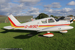G-AVSD - 1967 build Piper PA-28-180 Cherokee, temporary Barton resident