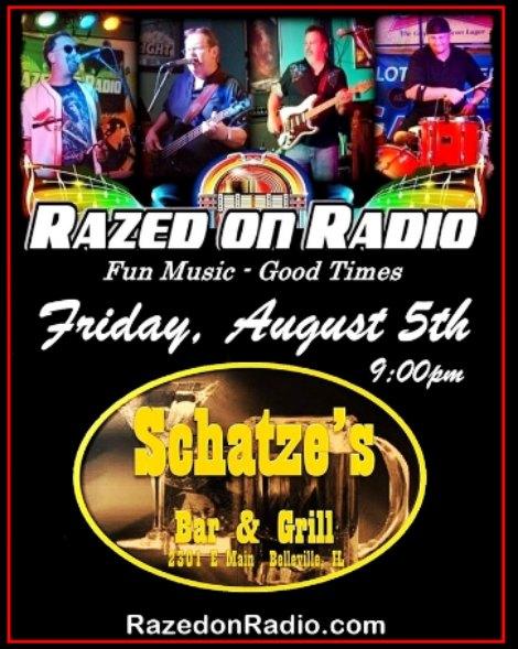 Razed On Radio 8-5-16