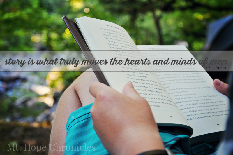 Story Moves the Hearts and Minds of Men @ Mt. Hope Chronicles