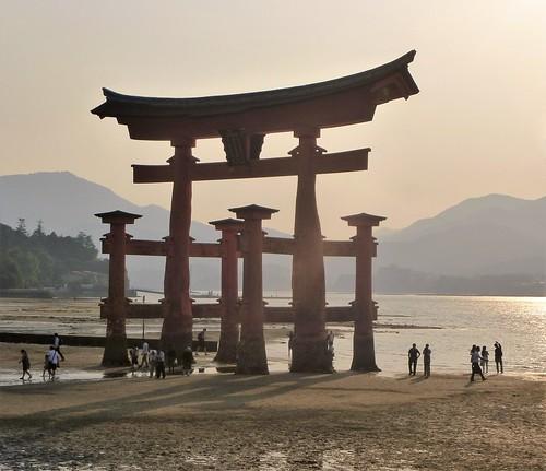 jp16-Myajima-Torii-coucher du soleil  (2)
