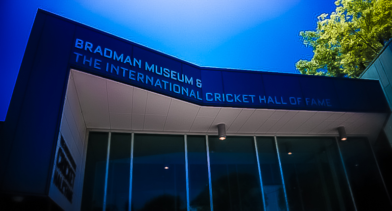 The International Cricket Hall of Fame is a permanent cultural exhibition dedicated to the game of cricket. It is located in the Australian town of Bowral, New South Wales