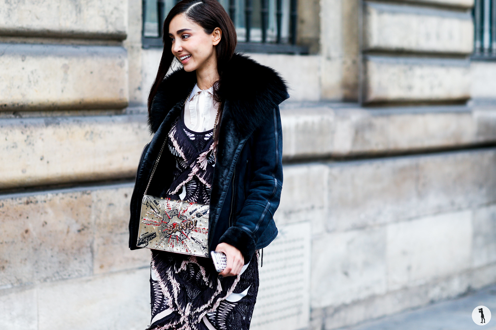 Patricia Contreras at Paris Fashion Week Menswear