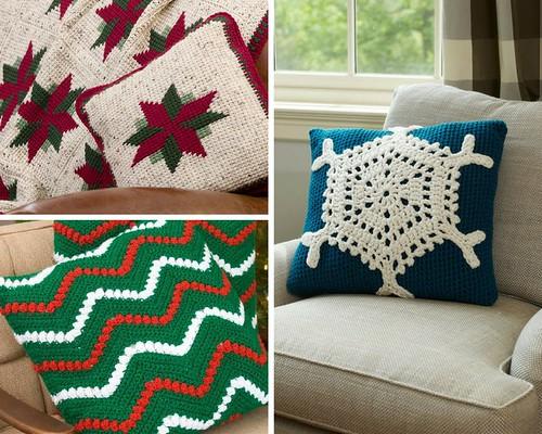 Christmas Pillows!! Free Crochet Patterns, Inspiration ...