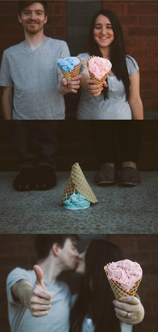 These 18 gender reveal ideas using food are so cute! Seriously such fun ways to reveal your baby's gender!