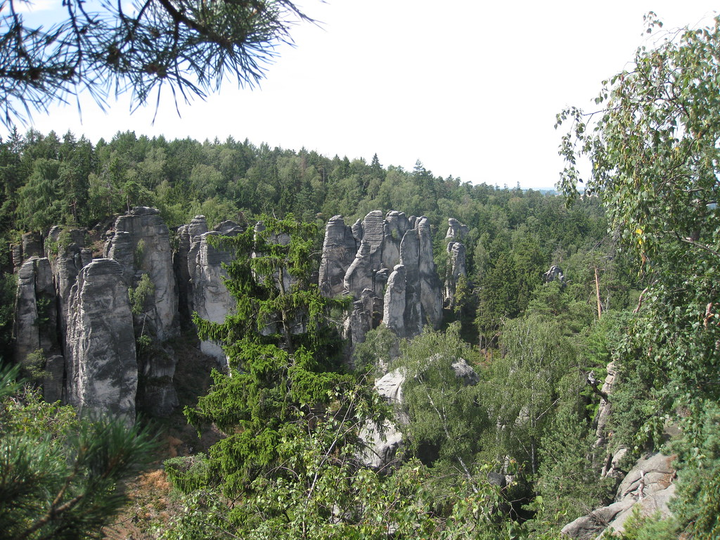 Cisařská Chodba Gorge (The Emperor's passage)