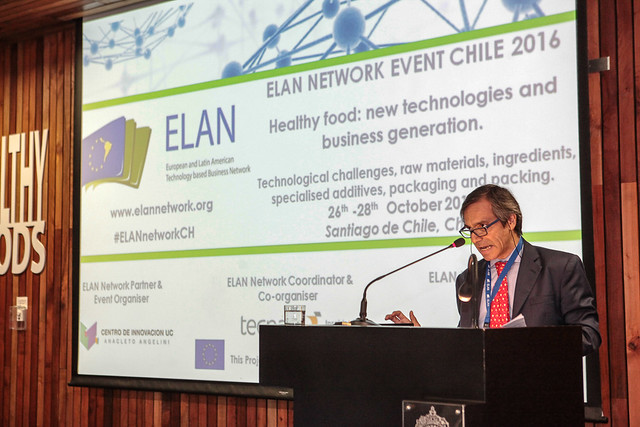 """ELAN Network """"Alimentos Saludables: nuevas tecnologías y generación de negocios"""""""