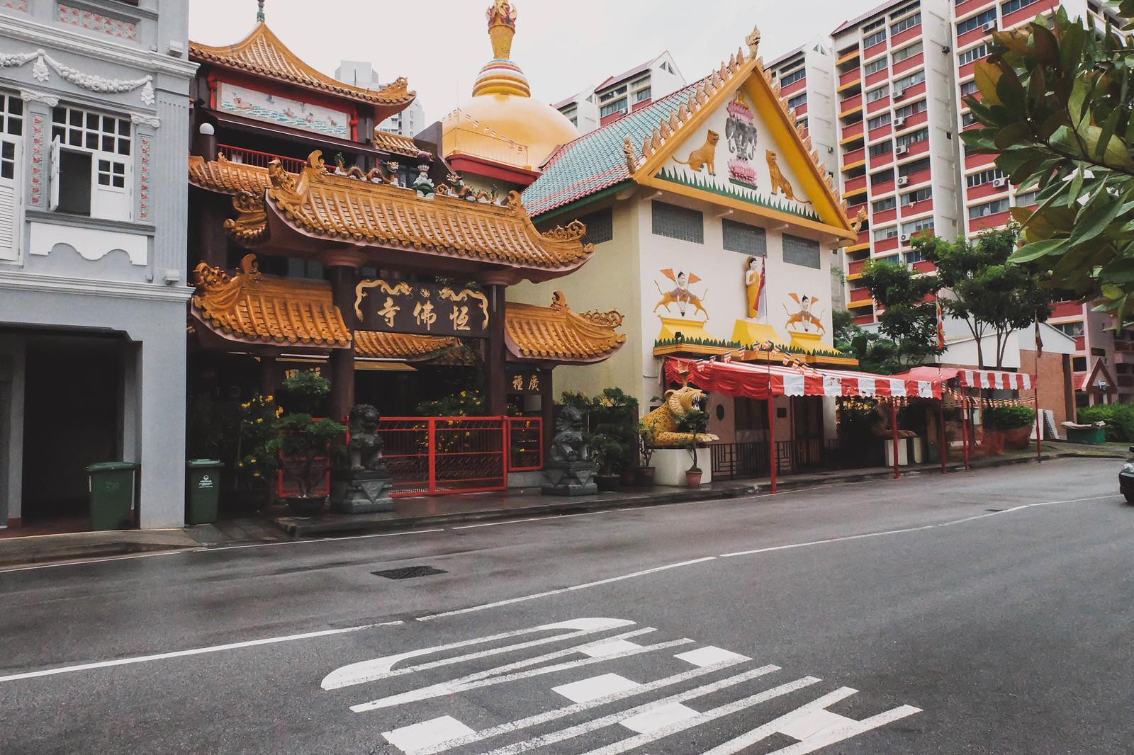 sakya muni buddha temple farrer park singapore