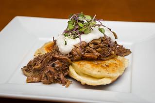 Braised Beef and Wild Mushroom Ragu Pierogies | Potato parme ...