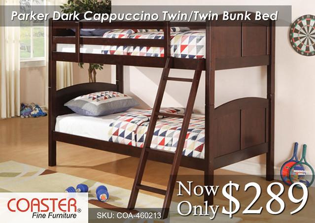 Parker dark Cappuccino twin-twin