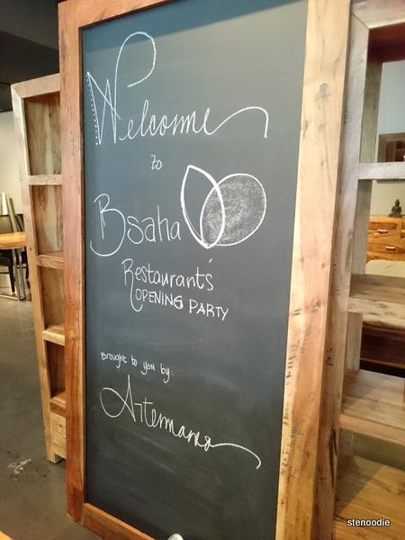 B'saha Restaurant's opening party