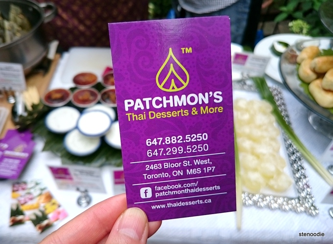 Patchmon's Thai Desserts & More info