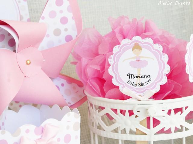 Baby Shower bailarina Merbo Events