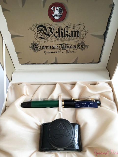 Review Pelikan M120 Green & Black Fountain Pen @couronneducomte 2