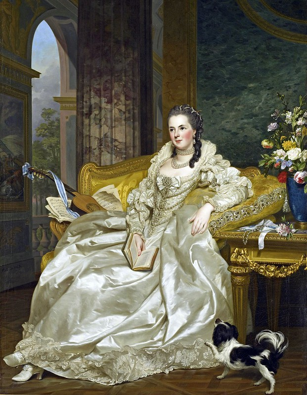Alexander Roslin - The Comtesse d'Egmont Pignatelli in Spanish Costume (1763)