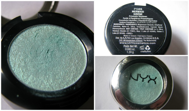 NYX Mermaid eyeshadow