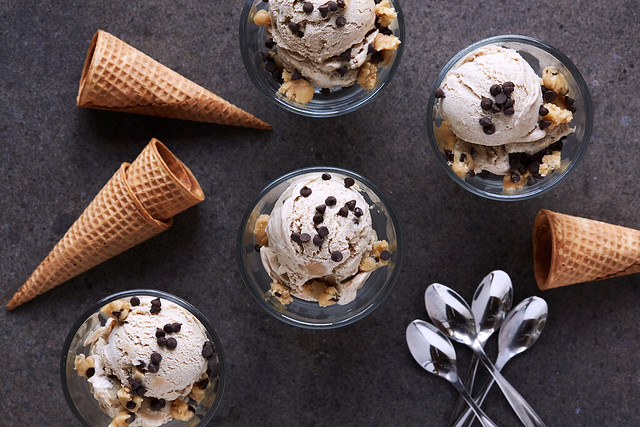 Grain-free Chocolate Chip Cookie Dough Coconut Milk Ice Cream