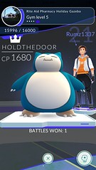 Snorlax Gym Boss