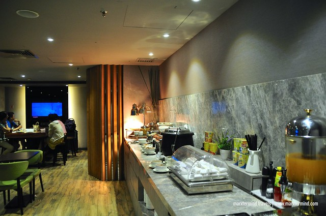 Food and Beverage at Plaza Premium Lounge