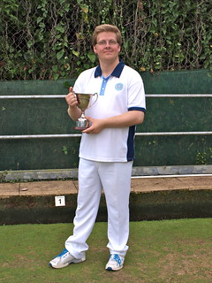 Men's county under 25's singles winner 2016