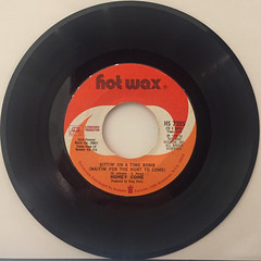 HONEY CONE:SITTIN' ON A TIME BOMB(WAITIN' FOR THE HURT TO COME)(RECORD SIDE-A)