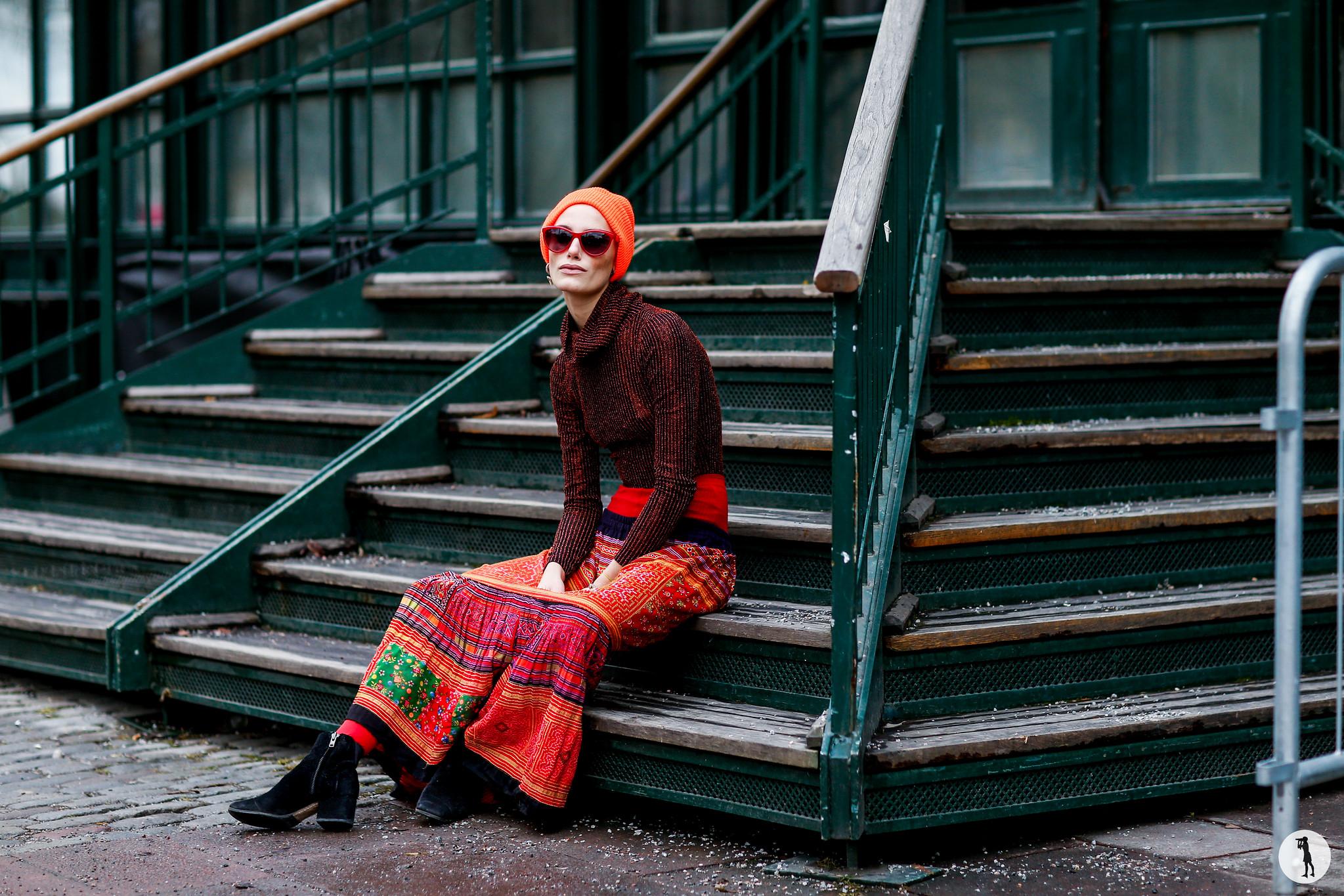 Model Alice Blomfeldt - Stockholm Fashion Week FW16-17 (2)