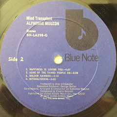 ALPHONSE MOUZON:MIND TRANS PLANT(LABEL SIDE-B)