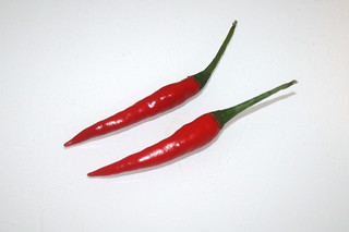 04 - Zutat Chilis / Ingredient chilis
