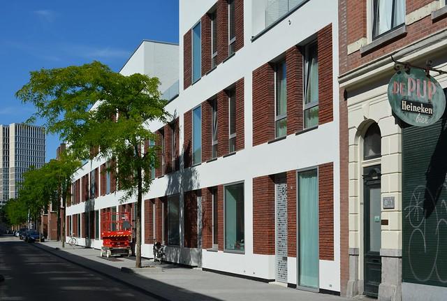 Cpo gaffelstraat opgeleverd nieuwbouw architectuur rotterdam for Nieuwbouw rotterdam huur