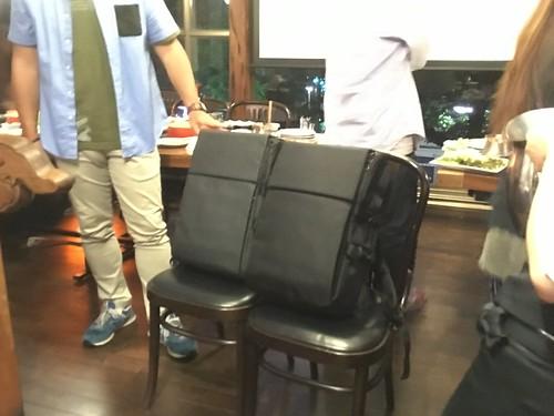 理想のリュック、お披露目イベント 2016.7.26