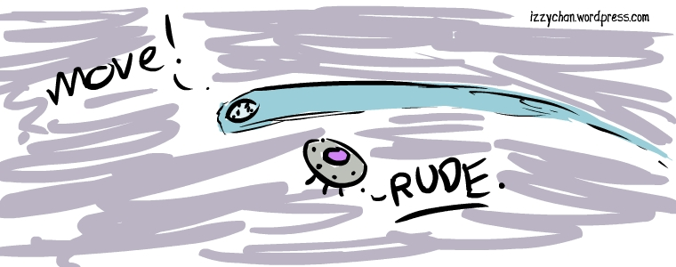 rude comet ufo