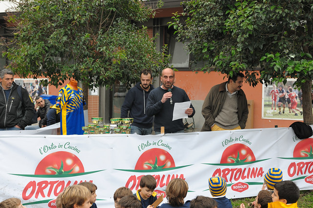 MINIRUGBY - Stagione 2016/17 - XIII Torneo Ortolina Rugby Parma - Le premiazioni
