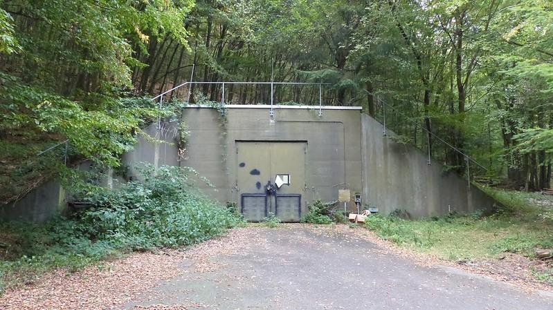 Wandern im Hunsrück: Munitionslager PSP 50 - Spabrücken
