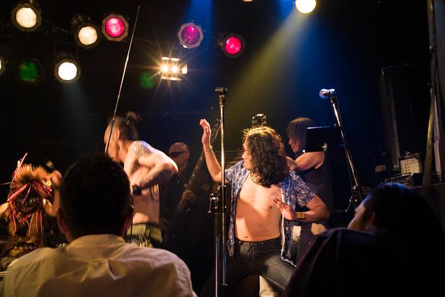 Brian Jones tribute session at Club Mission's, Tokyo, 13 Jul 2016 -00635