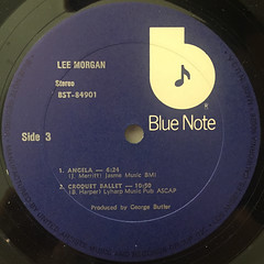 LEE MORGAN:LEE MORGAN(LABEL SIDE-D)