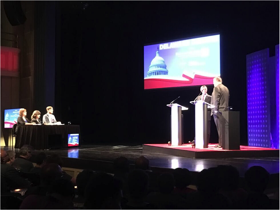 The race to office, with a pit stop at the Delaware Debates