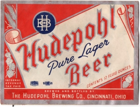 Hudepohl-Pure-Lager-Beer--Labels-Hudepohl-Brewing-Company-Plant