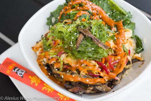 Mushroom Bibimbap