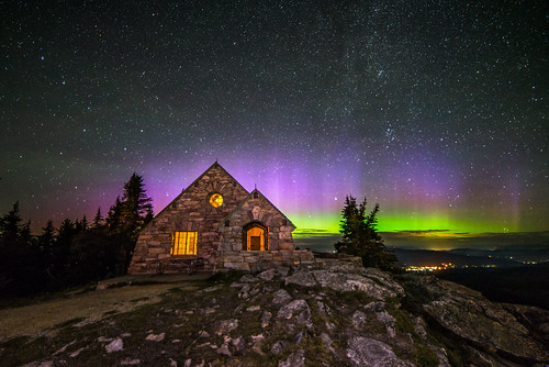 Mount Spokane Aurora