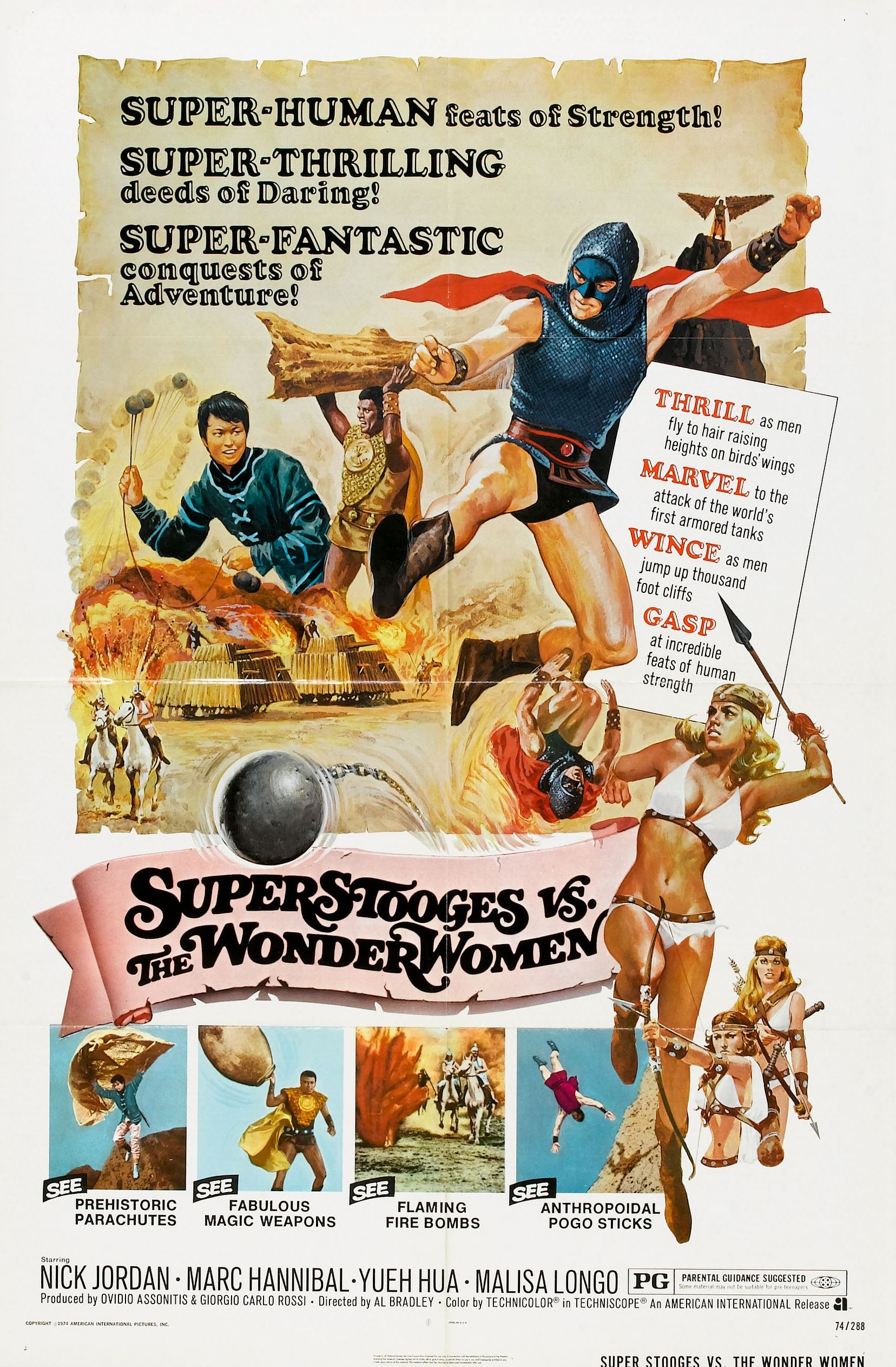 Super Stooges Vs. the Wonder Women (1975)