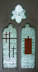 Corinthians 13 (Kings Lynn Glass Workshop, 2007)