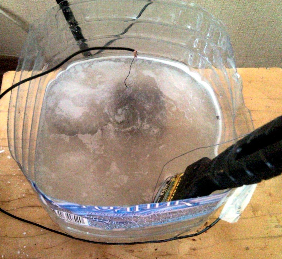 Чистка от ржавчины электролизом