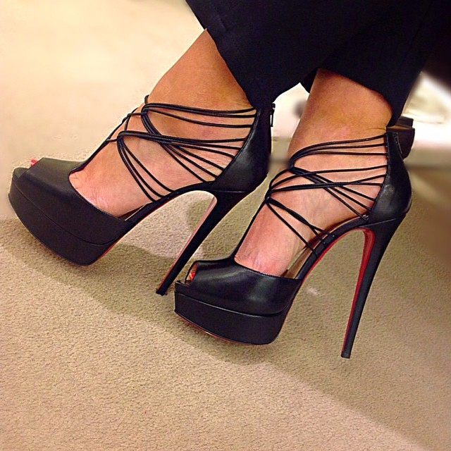mens white christian louboutin - Loubies #Louboutin heels, repost from @laurenatsaks - New ...