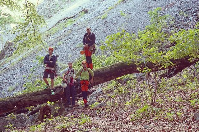 Schneeberg Stadelwand Plattensymphonie 340 m (7-); Mad 170 m (7)