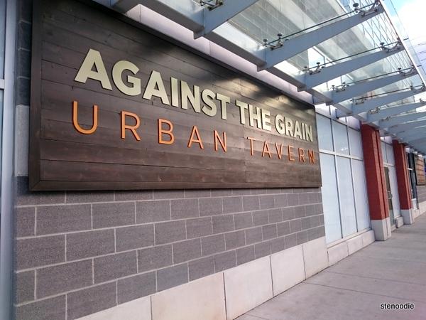 Against the Grain Urban Tavern sign