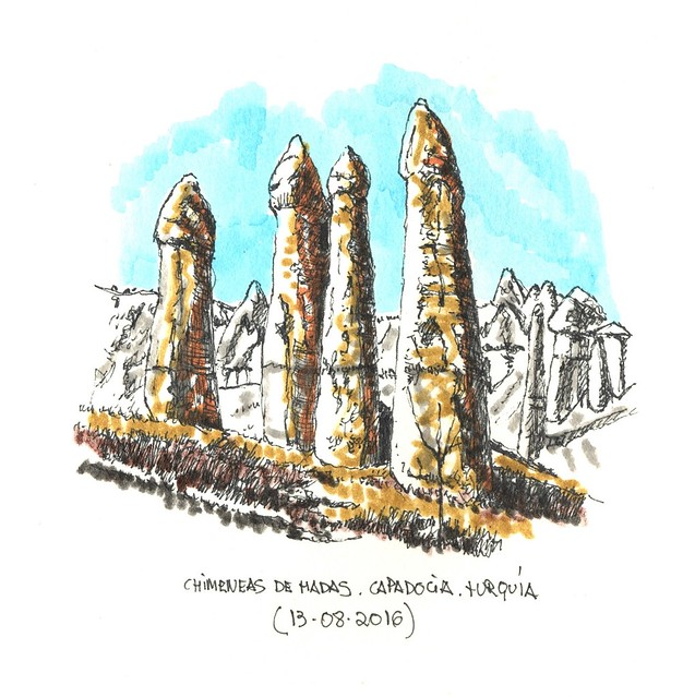 Capadocia. Turquía
