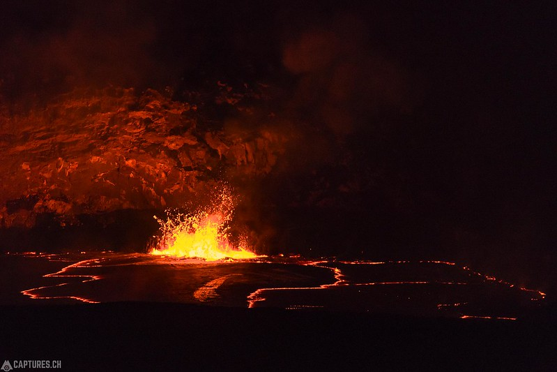 Lava action - Big Island
